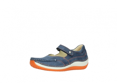wolky riemchenschuhe 04804 elation 10830 denim orange nubuck_23