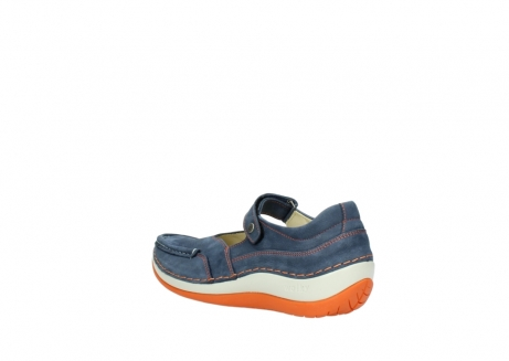 wolky riemchenschuhe 04804 elation 10830 denim orange nubuck_4