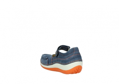wolky riemchenschuhe 04804 elation 10830 denim orange nubuck_5