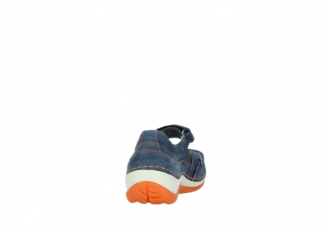 wolky riemchenschuhe 04804 elation 10830 denim orange nubuck_8