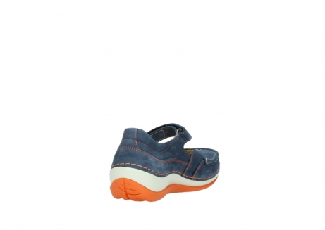wolky riemchenschuhe 04804 elation 10830 denim orange nubuck_9