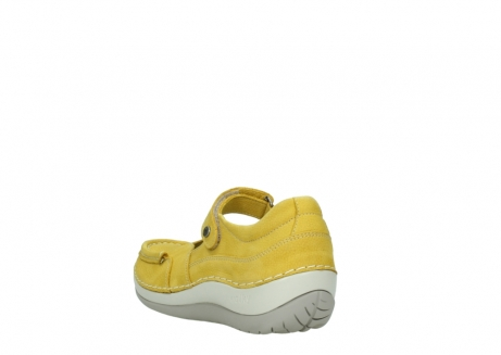 wolky chaussures a bride 04804 elation 10900 jaune_5