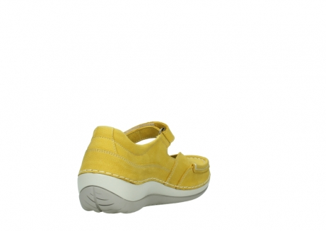 wolky chaussures a bride 04804 elation 10900 jaune_9