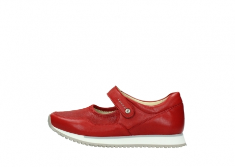 wolky bandschoenen 05801 e step 70570 rood zomer leer_1