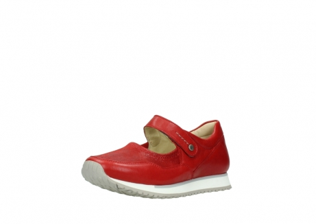 wolky bandschoenen 05801 e step 70570 rood zomer leer_22