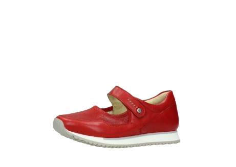 wolky bandschoenen 05801 e step 70570 rood zomer leer_23