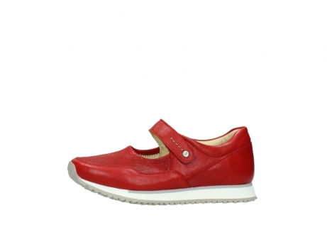 wolky bandschoenen 05801 e step 70570 rood zomer leer_24