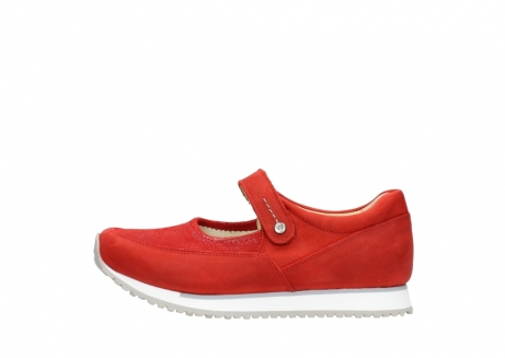 wolky riemchenschuhe 05805 e step 11500 rot stretch nubuck_1