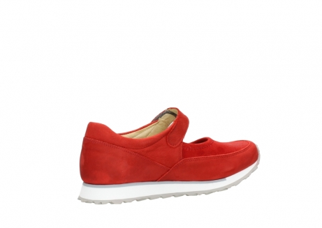 wolky riemchenschuhe 05805 e step 11500 rot stretch nubuck_11