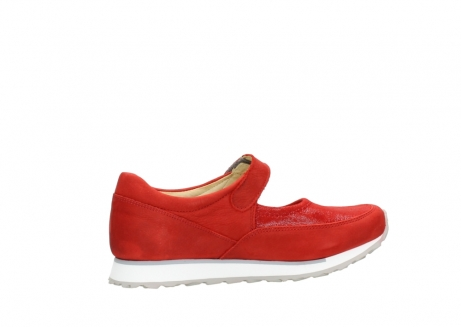 wolky riemchenschuhe 05805 e step 11500 rot stretch nubuck_12