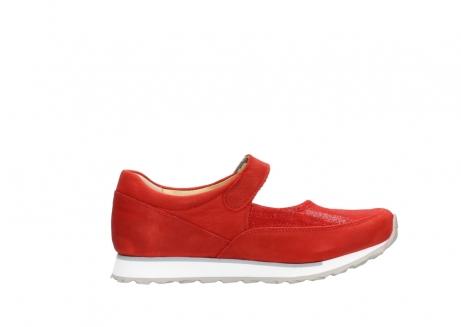 wolky riemchenschuhe 05805 e step 11500 rot stretch nubuck_13
