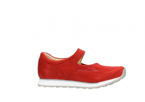 wolky riemchenschuhe 05805 e step 11500 rot stretch nubuck_14