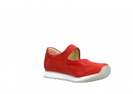 wolky riemchenschuhe 05805 e step 11500 rot stretch nubuck_16