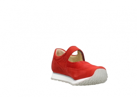 wolky riemchenschuhe 05805 e step 11500 rot stretch nubuck_17