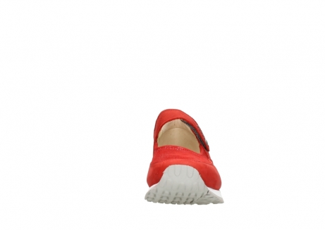 wolky riemchenschuhe 05805 e step 11500 rot stretch nubuck_19