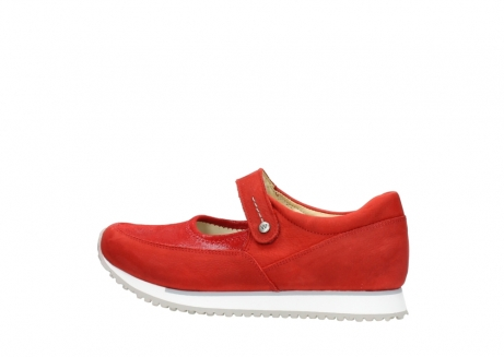 wolky riemchenschuhe 05805 e step 11500 rot stretch nubuck_2