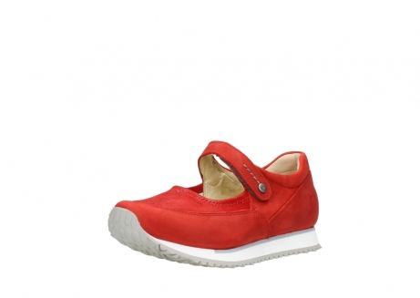 wolky riemchenschuhe 05805 e step 11500 rot stretch nubuck_22