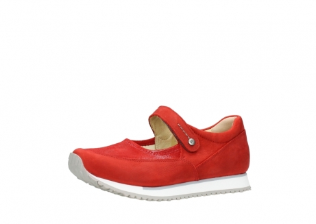 wolky riemchenschuhe 05805 e step 11500 rot stretch nubuck_23
