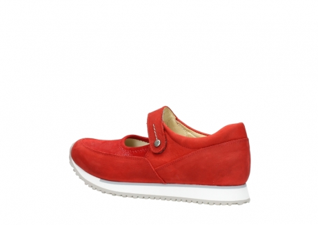 wolky riemchenschuhe 05805 e step 11500 rot stretch nubuck_3
