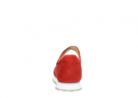 wolky riemchenschuhe 05805 e step 11500 rot stretch nubuck_7