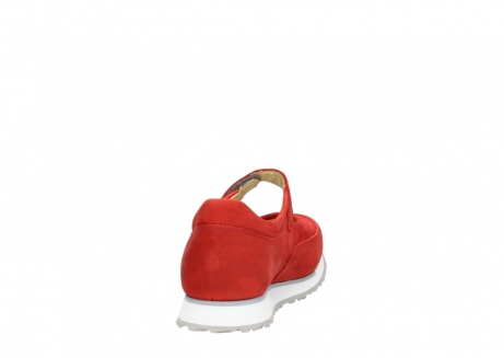 wolky riemchenschuhe 05805 e step 11500 rot stretch nubuck_8