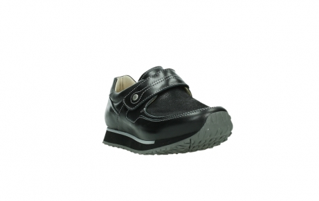 wolky mary janes 05807 e strap 20009 black stretch leather_5