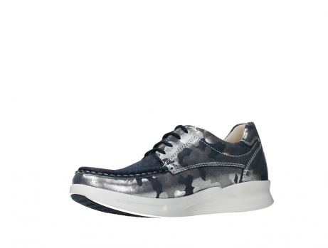 wolky lace up shoes 05901 one 14870 blue summer camouflage stretchnubuck_11