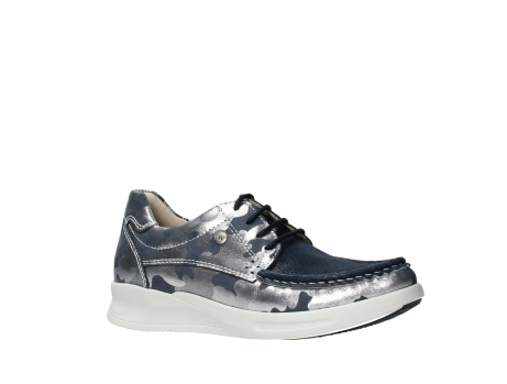 wolky lace up shoes 05901 one 14870 blue summer camouflage stretchnubuck_3