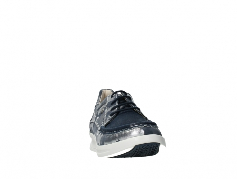 wolky lace up shoes 05901 one 14870 blue summer camouflage stretchnubuck_6