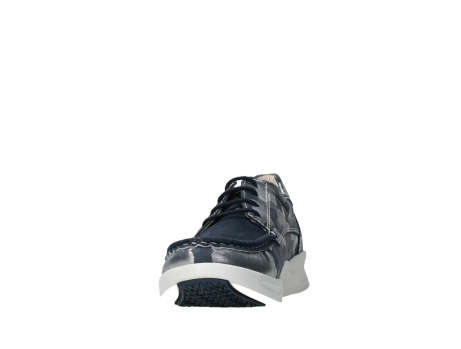wolky lace up shoes 05901 one 14870 blue summer camouflage stretchnubuck_8