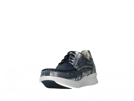wolky lace up shoes 05901 one 14870 blue summer camouflage stretchnubuck_9