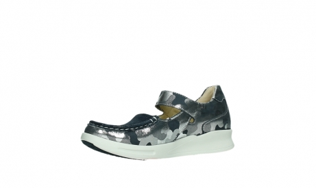wolky bandschoenen 05902 two 14870 blauw camouflage stretch_11