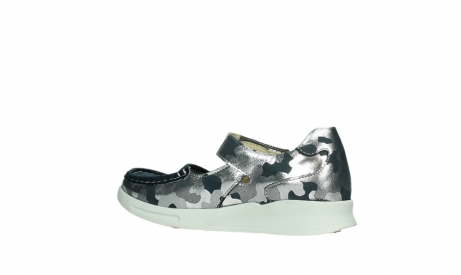 wolky bandschoenen 05902 two 14870 blauw camouflage stretch_15