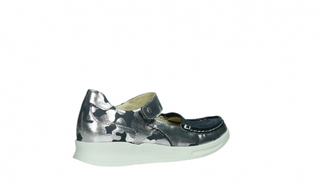 wolky bandschoenen 05902 two 14870 blauw camouflage stretch_23