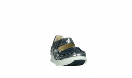 wolky bandschoenen 05902 two 14870 blauw camouflage stretch_6