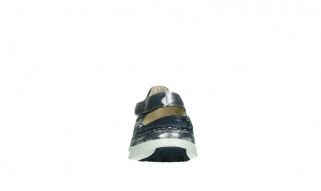 wolky bandschoenen 05902 two 14870 blauw camouflage stretch_7