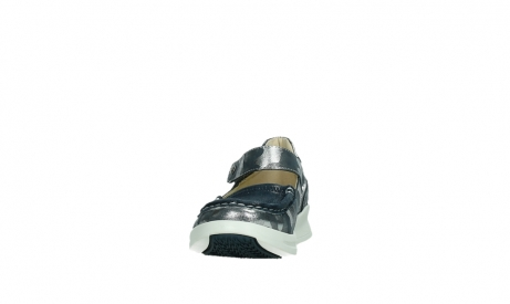 wolky bandschoenen 05902 two 14870 blauw camouflage stretch_8