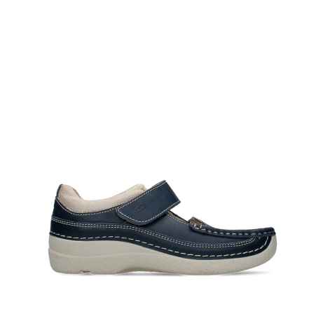 wolky mary janes 06235 roll combi 30870 blue summer leather