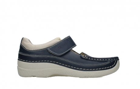 wolky mary janes 06235 roll combi 30870 blue summer leather_1