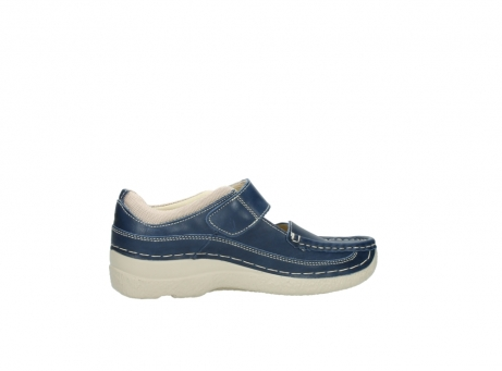 wolky mary janes 06235 roll combi 30870 blue summer leather_12