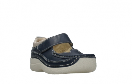 wolky mary janes 06235 roll combi 30870 blue summer leather_2