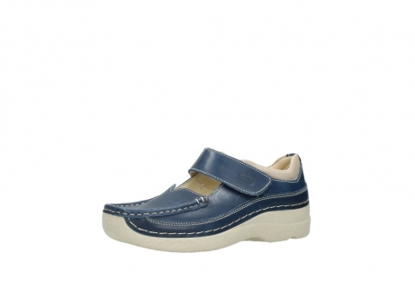 wolky mary janes 06235 roll combi 30870 blue summer leather_23