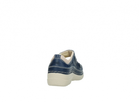 wolky mary janes 06235 roll combi 30870 blue summer leather_8