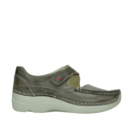 wolky bandschoenen 06247 roll fever 30150 taupe leer