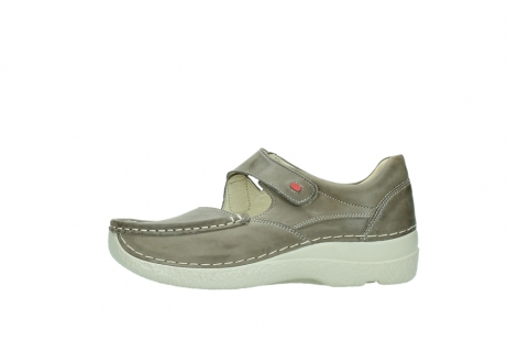 wolky bandschoenen 06247 roll fever 30150 taupe leer_1