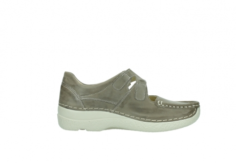 wolky bandschoenen 06247 roll fever 30150 taupe leer_13