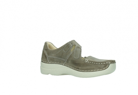 wolky bandschoenen 06247 roll fever 30150 taupe leer_15