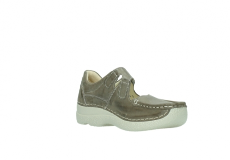 wolky bandschoenen 06247 roll fever 30150 taupe leer_16