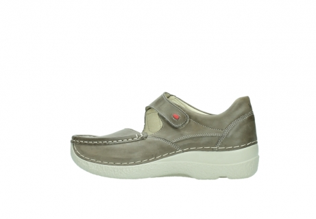 wolky bandschoenen 06247 roll fever 30150 taupe leer_2