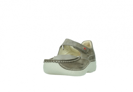 wolky bandschoenen 06247 roll fever 30150 taupe leer_21